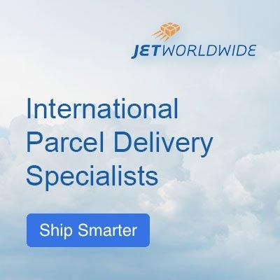 jet world wide international parcel delivery specialists
