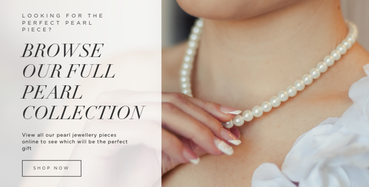 Browse Pearls at Burrells