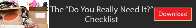 the do you really need it checklist
